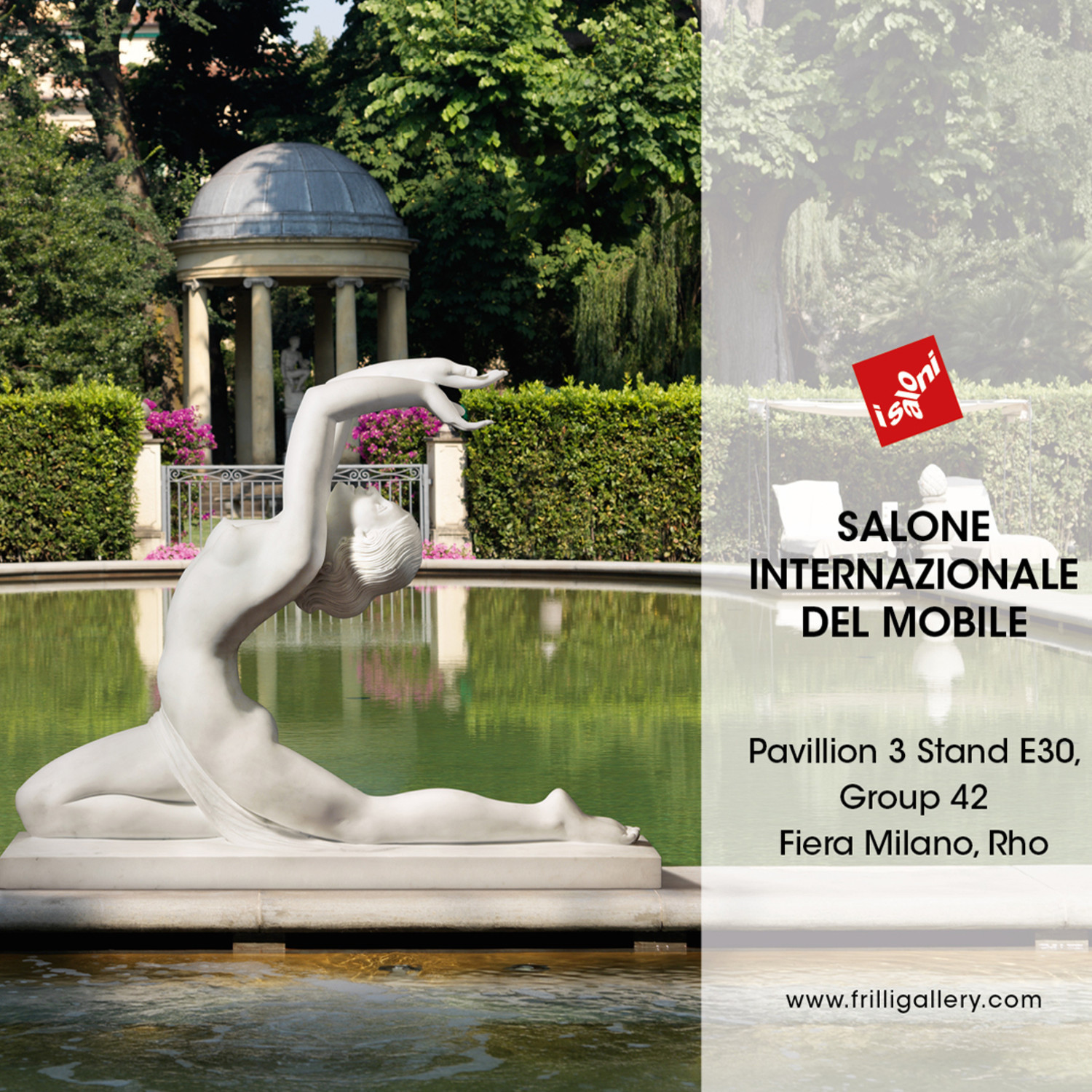 Frilli gallery sculpture art studio in florence since 1860 for Salone del mobile hotels